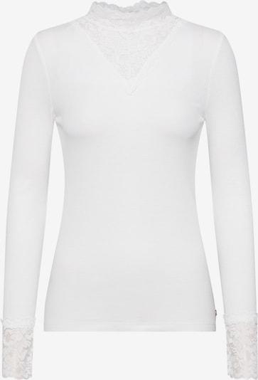 TOM TAILOR DENIM Koszulka w kolorze białym: Widok z przodu