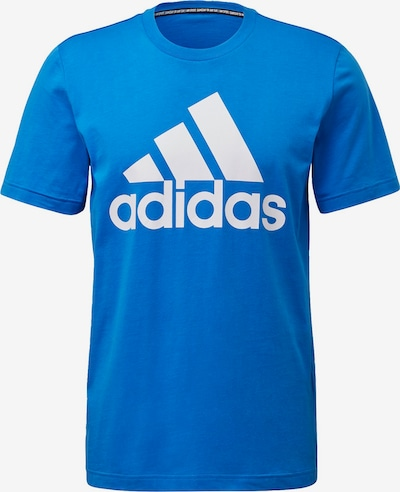 ADIDAS PERFORMANCE T-Shirt 'Must Have Badge of Sport' in himmelblau / weiß, Produktansicht