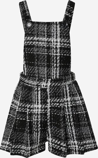 Missguided Latzhose in schwarz / weiß, Produktansicht