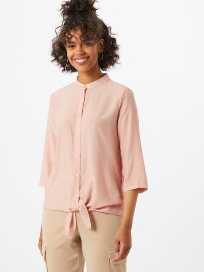 VILA Bluzka w kolorze różowy pudrowym, Podgląd na modelu(-ce)