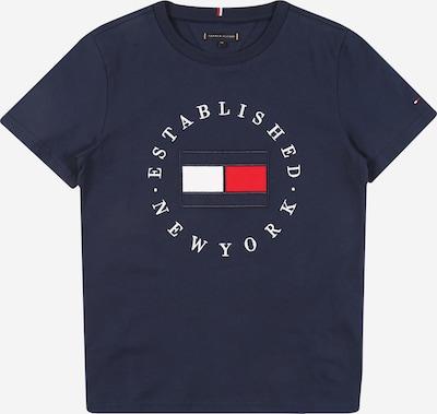 TOMMY HILFIGER Shirt in marine / rot / weiß, Produktansicht