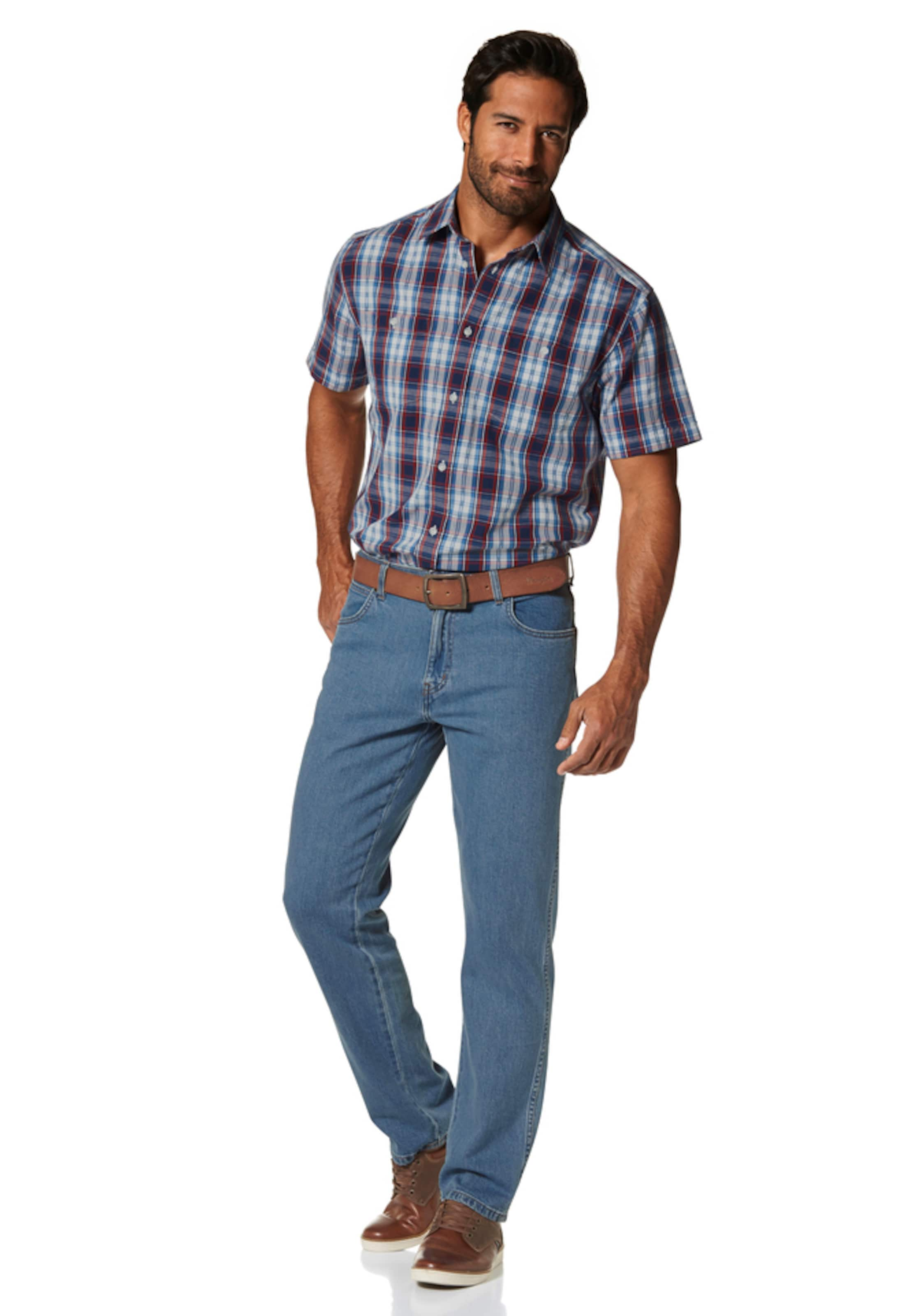 'durable' jeans In Wrangler Stretch Blue Denim l1JFKTc3