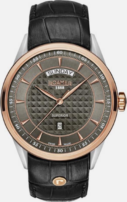 Roamer Armbanduhr, Superior Day Date, 508293 49 05 05