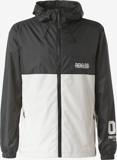 Young & Reckless Tussenjas 'Shell' in de kleur Zwart / Wit, Productweergave