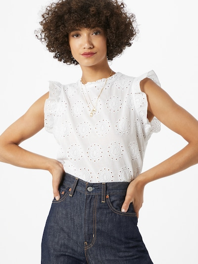 Trendyol Bluse in offwhite: Frontalansicht