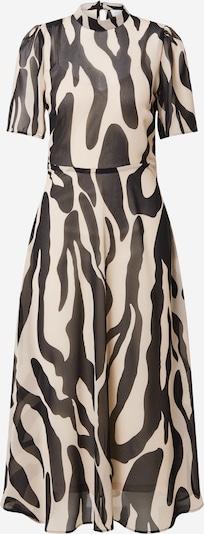 VILA Letné šaty - farba ťavej srsti / čierna: Pohľad spredu