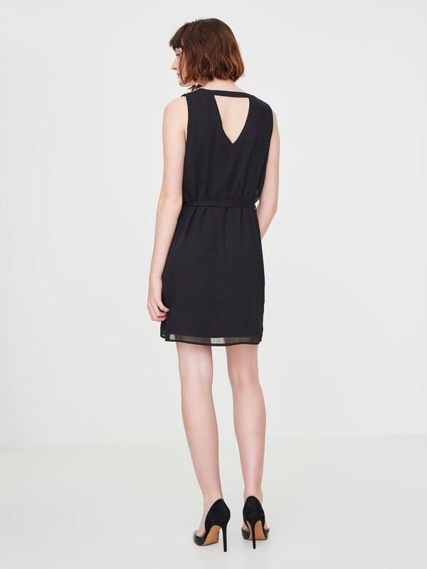 VERO MODA Kleid mit Steinbesatz