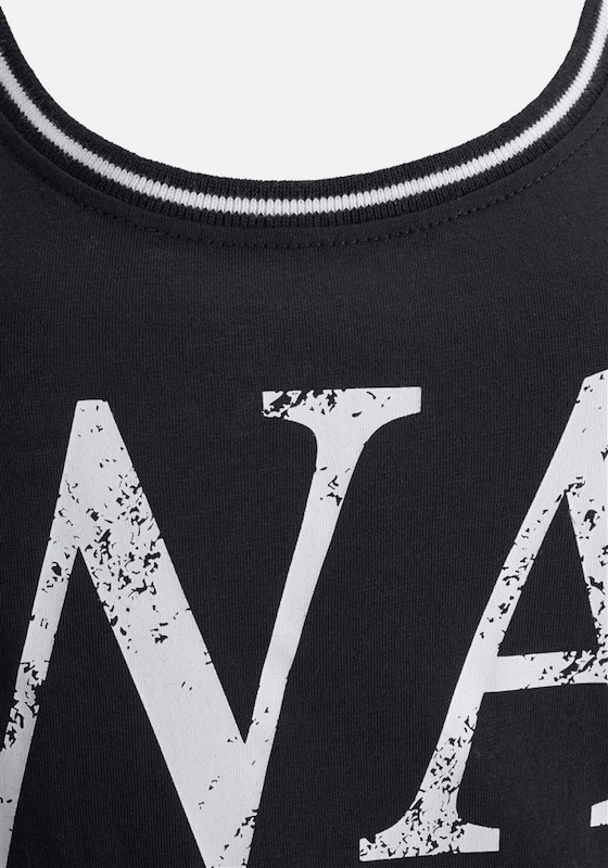 BUFFALO Nachthemd in lässiger Tanktopoptik mit Frontprint