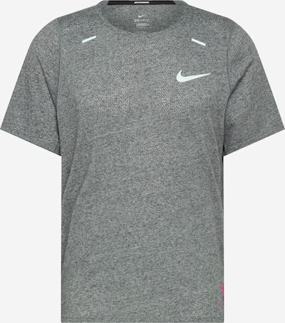 NIKE Tehnička sportska majica 'Rise 365 Future Fast' u siva melange / ljubičasta / narančasta / boja vina / narančasto crvena / bijela, Pregled proizvoda