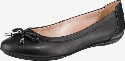 GEOX Ballerina 'Charlene' in schwarz, Produktansicht