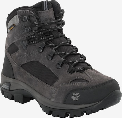 JACK WOLFSKIN Trekkingschuh 'ALL TERRAIN 8 TEXAPORE MID W' in dunkelgrau / schwarz, Produktansicht