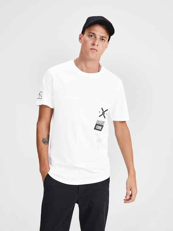 JACK & JONES Longline T-Shirt