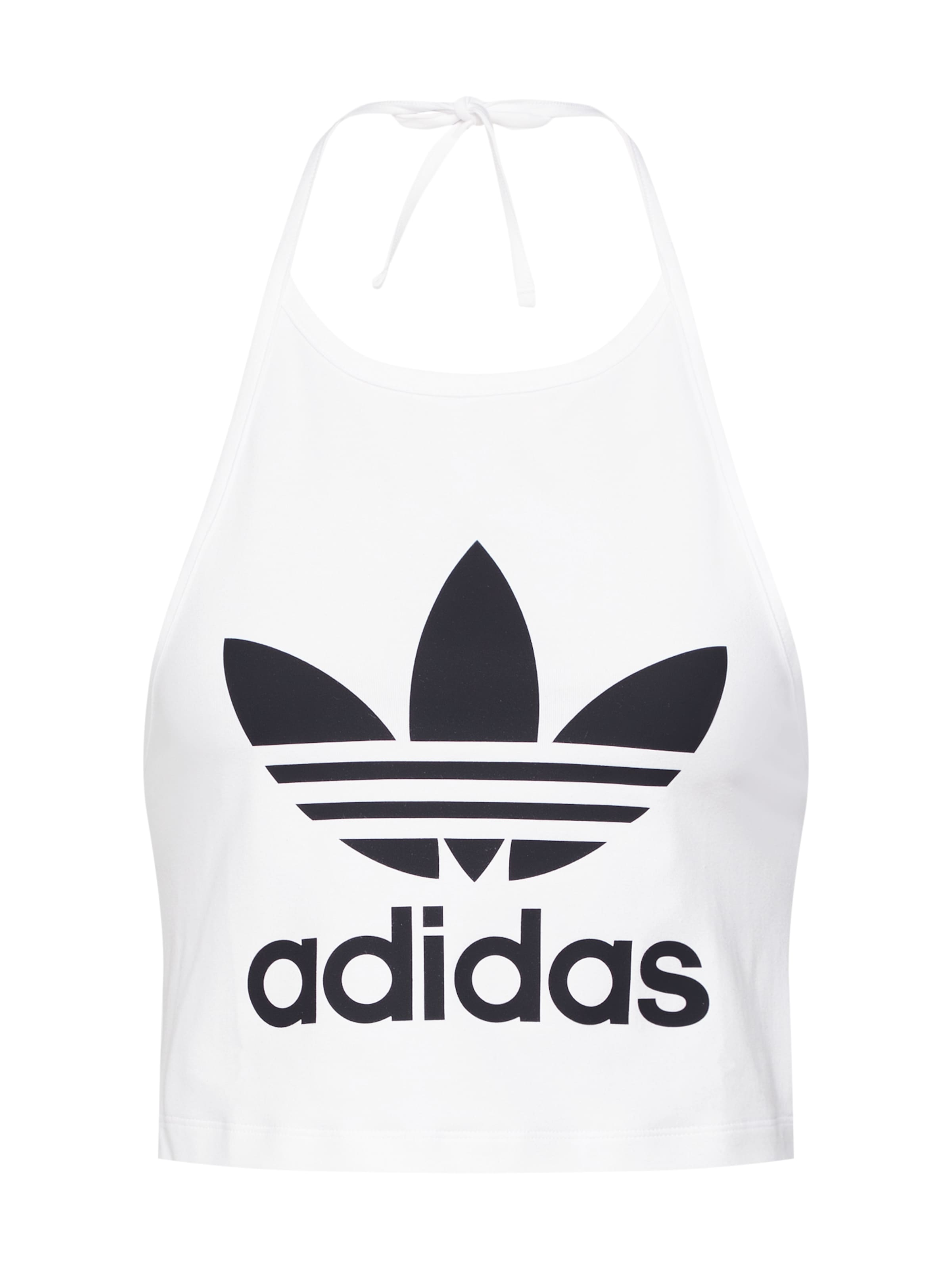 NoirBlanc Haut 'trefoil Adidas Originals Tank' En 1TFKlc3uJ