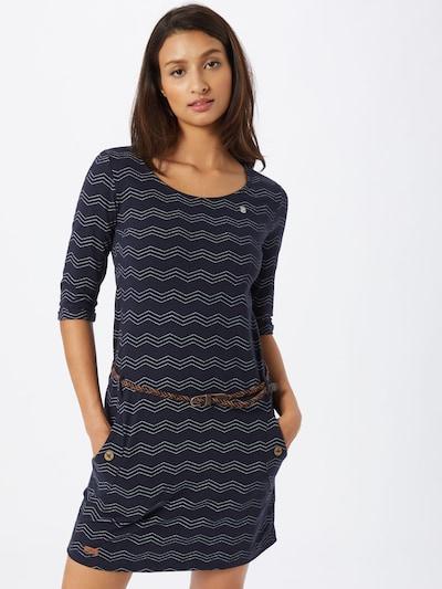 Ragwear Kleid 'Tanya' in navy / weiß, Modelansicht