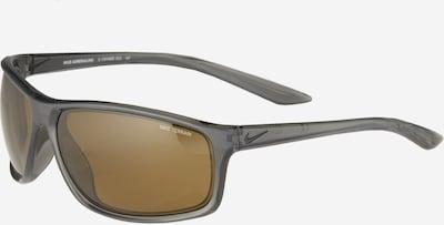 NIKE Sporta saulesbrilles 'Adrenaline E CW4680' pelēks / melns, Preces skats