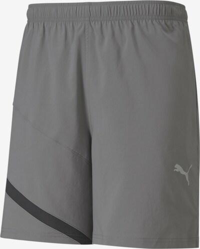 PUMA Shorts in grau / schwarz, Produktansicht