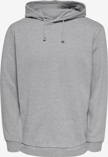 Only & Sons Sweatshirt in de kleur Grijs, Productweergave