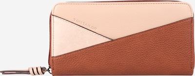 TOM TAILOR Denarnica 'Elina' | konjak / roza barva, Prikaz izdelka