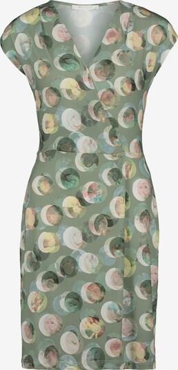 Betty & Co Jerseykleid ohne Arm in khaki / altrosa, Produktansicht