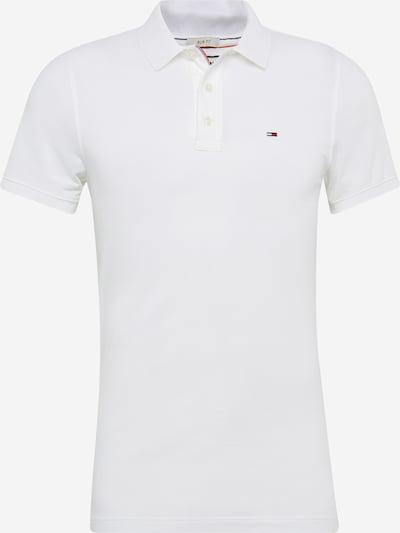 Tommy Jeans T-Shirt 'TJM ORIGINAL FINE PIQUE S/S' en blanc, Vue avec produit