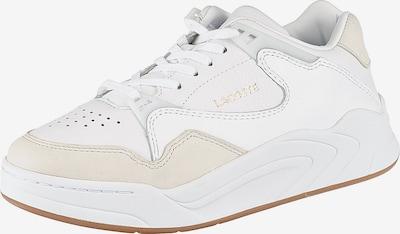 LACOSTE Sneaker 'Court Slam 319' in champagner / offwhite, Produktansicht