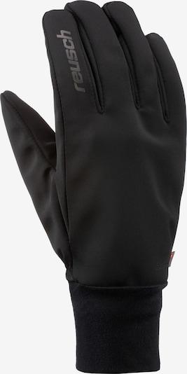 REUSCH Fingerhandschuhe 'Walk' in schwarz, Produktansicht