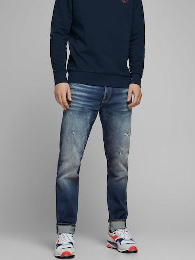 JACK & JONES JOS 182 Anti Fit Jeans in blue denim, Modelansicht