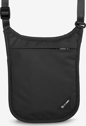 Pacsafe Coversafe V75 Brustsafe RFID 15 cm in schwarz, Produktansicht