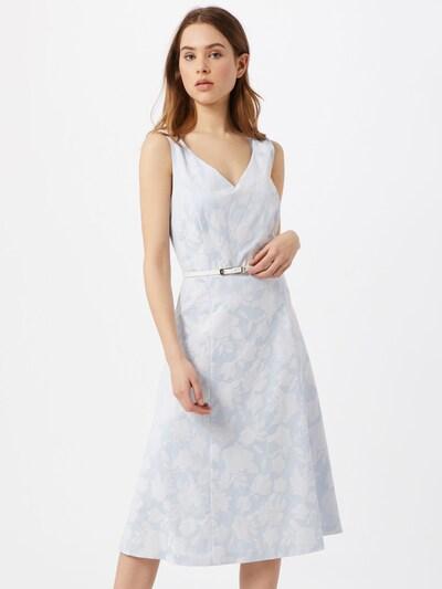 COMMA Kleid in hellblau / weiß, Modelansicht