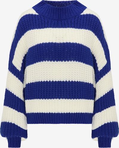 MYMO Pullover in dunkelblau / weiß, Produktansicht