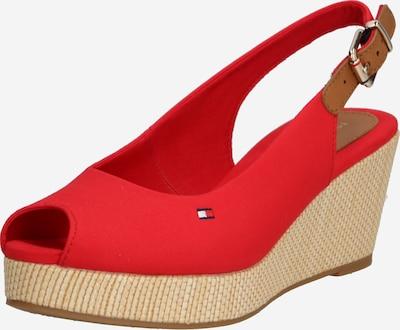 TOMMY HILFIGER Sandale 'Elba' in rot, Produktansicht