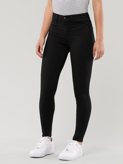 HOLLISTER Jeans in black denim, Modelansicht