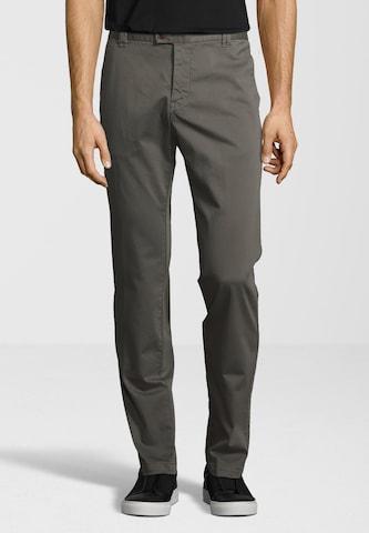 Pantalon chino 'Wood' CINQUE en gris