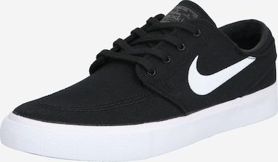 Nike SB Baskets basses 'JANOSKI' en noir / blanc, Vue avec produit