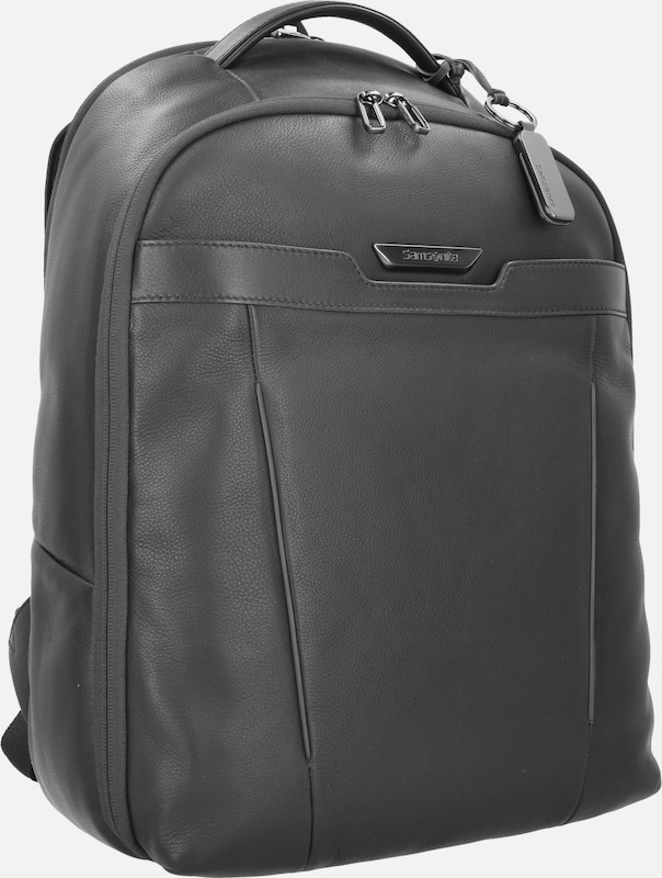 SAMSONITE Sygnum Business Rucksack Leder 46 cm Laptopfach