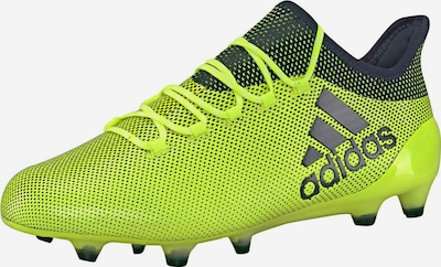 ADIDAS PERFORMANCE Fußballschuh 'X 17.1 FG' in neongelb / schwarz, Produktansicht