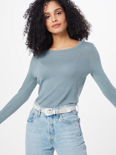 VERO MODA Pullover 'VMMINNIECARE' in blau, Modelansicht