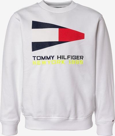 TOMMY HILFIGER Sweatshirt in weiß, Produktansicht