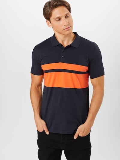 ESPRIT Tričko - námořnická modř / oranžová: Pohled zepředu