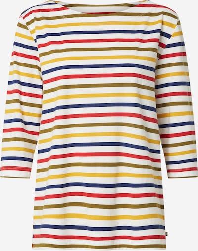 ESPRIT T-shirt 'OCS' en bleu marine / jaune / kaki / rouge / blanc cassé, Vue avec produit