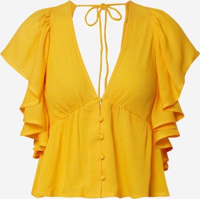 Y.A.S Koszulka ''SAFFRON' w kolorze szafranowym: Widok z przodu