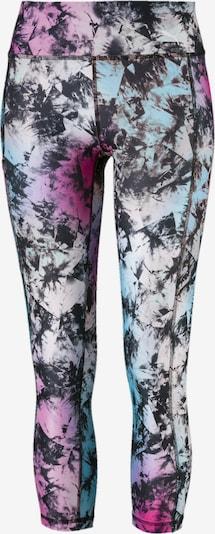 PUMA Sportbroek 'Stand Out' in de kleur Lichtblauw / Pink / Zwart / Wit, Productweergave