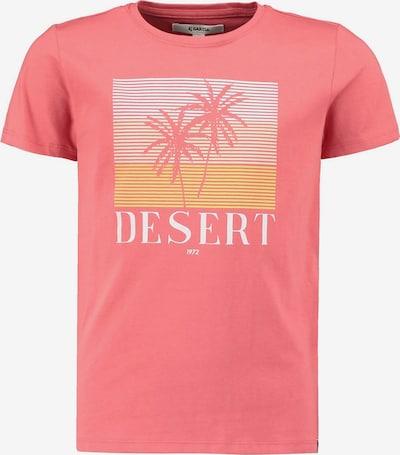 GARCIA Shirt in de kleur Geel / Koraal / Wit, Productweergave