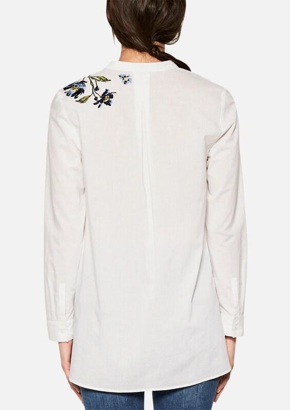 S.Oliver schwarz LABEL LABEL LABEL BatistBlause mit Embroidery in weiß  Mode neue Kleidung aed350