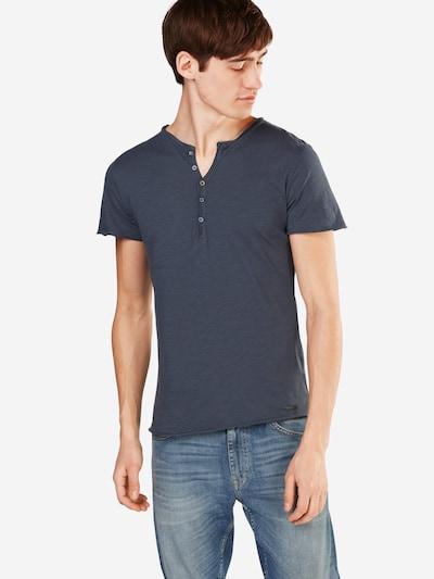 Key Largo T-Shirt 'MT LEMONADE button' in taubenblau: Frontalansicht