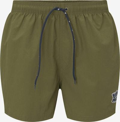 TOM TAILOR Shorts de bain en kaki, Vue avec produit