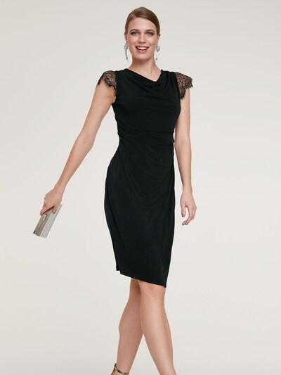 heine Koktejlové šaty - černá, Model/ka