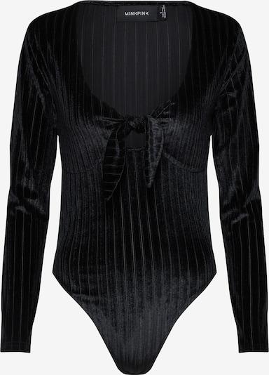 MINKPINK Body 'BLAIR VELVET' in schwarz, Produktansicht