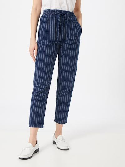 Pantaloni eleganți 'Camila' LTB pe albastru / alb, Vizualizare model