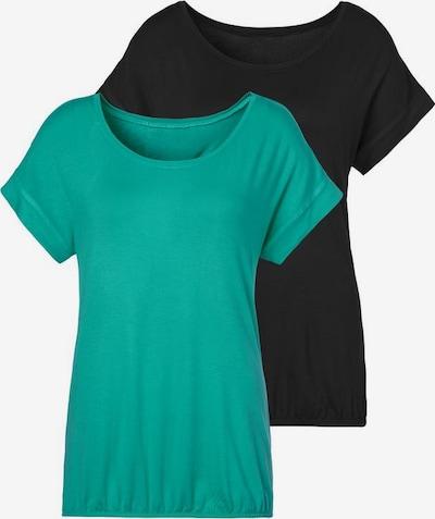 VIVANCE Shirt in grün / schwarz, Produktansicht